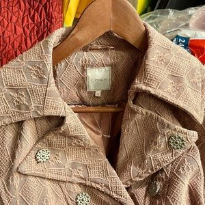 NWOT Rose Colored Coat from 'Cream' sz 42